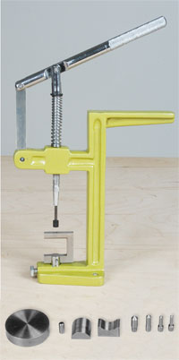 Press with jig base